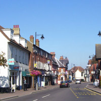 Small town in Kent (Orpington)