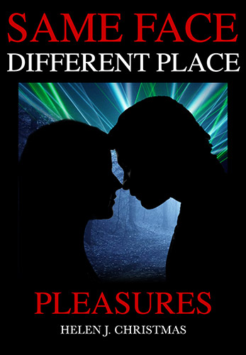 Cover image for SAME FACE DIFFERENT PLACE Pleasures, crime thriller set England.